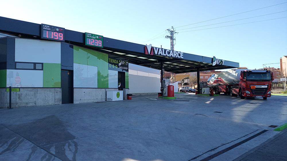 Estación de servicio DST Azalea