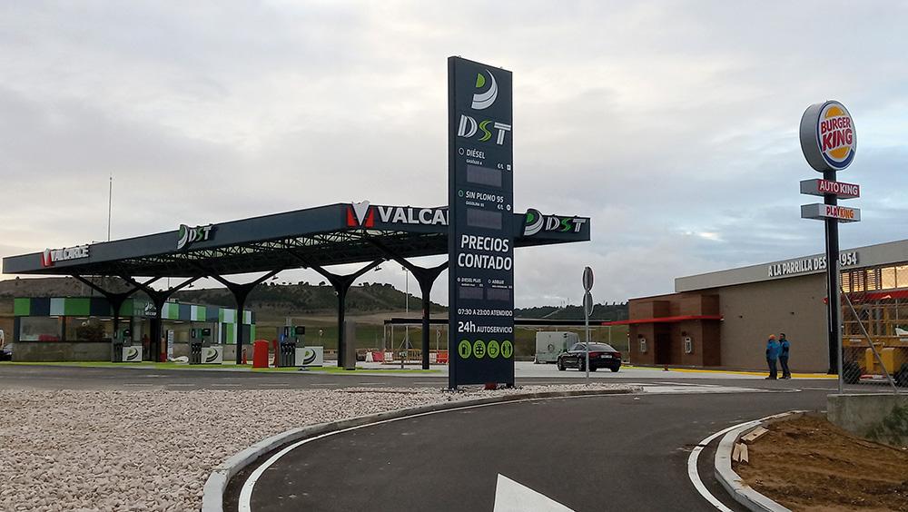 Estación de servicio DST Río Shopping